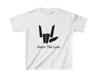 38bf048779b4 Share the love shirt for kids and youth, Inspired by Stephen Carter Sharer  - YouTube Merch - Kids Fashion Stephen Sharer