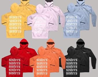 b31695a48 Sisters Hoodie James Charles Sisters Hoodie Sisters Apparel Sisters  Sweatshirt James Charles Merch Sisters Forever