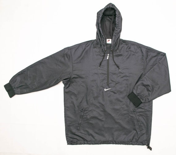 Vintage 90's Nike Pullover Track Embroidered Cente