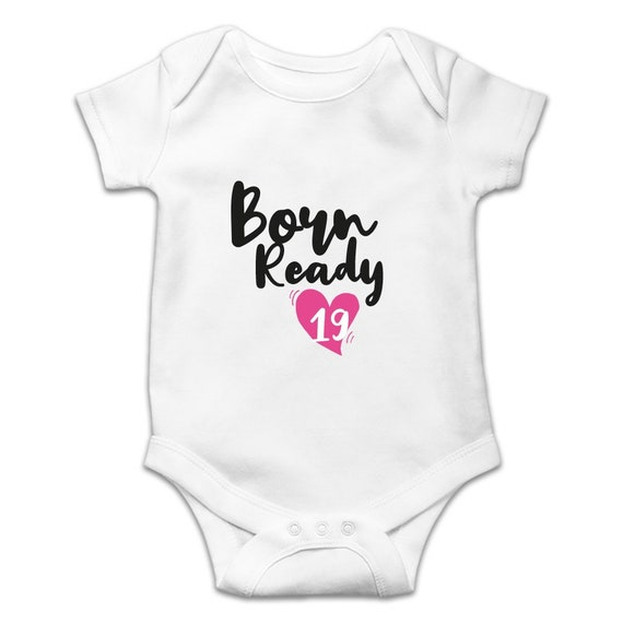 Peronalised Made in Baby Grow  Bodysuit