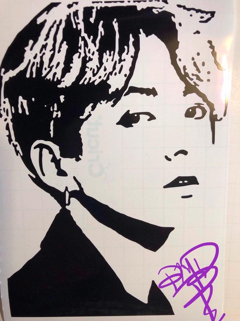 BTS Portrait Decals