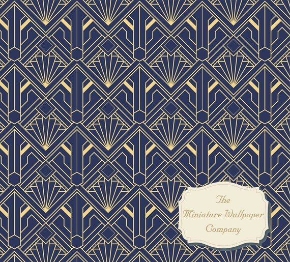 24th Scale A3 Sheet Size 1//6th 12th Scale Victorian Blue Luxury Wallpaper 1//48th-Miniature Wallpaper-Dollhouse Wallpaper 1//16th 1//12th 1//24th Miniature Wallpaper