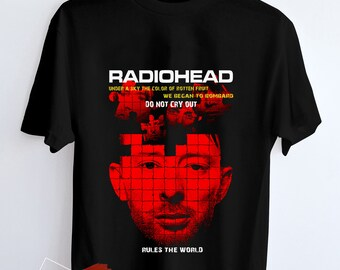 47dc992d9 Radiohead Band, Radiohead T Shirt Hypebeast Sreet Wear for Adult Unisex