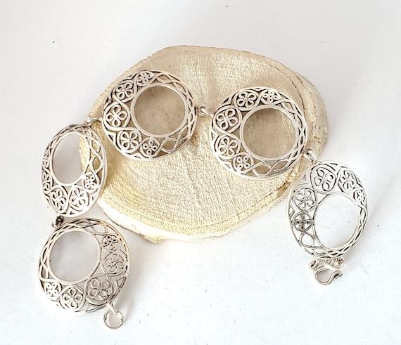 Moroccan Handmade Berber Bracelet sterling silver