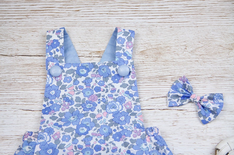 SET 2 Liberty Romper,Liberty of London,baby Liberty onesie,baby playsuit,baby Liberty clothes,Liberty bubble romper,Liberty baby sunsuit