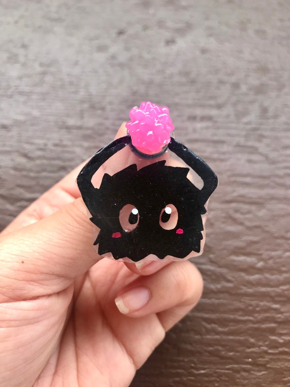 Spirited Away Soot Sprite Carrying Konpeito Star Candy Pin Etsy
