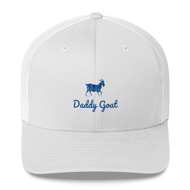 Daddy Goat Hat / Dad / Farther's Day / Golf / Sports / Birthday / Greatest  / Best / Baseball Cap / World's Best Dad / Gift / Present / 2019