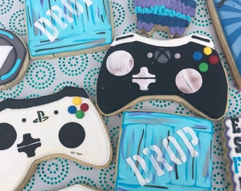 Gamer Cookie Set | Birthday Party, Game Controller, Video Games