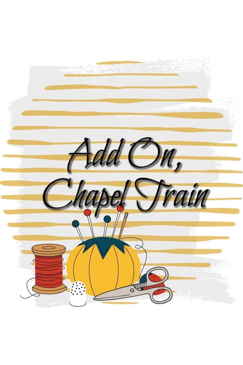 Add On Chapel Train for dresses