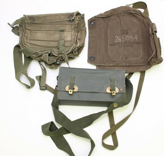 Vintage Military Bags Collection | Vietnam War Tra