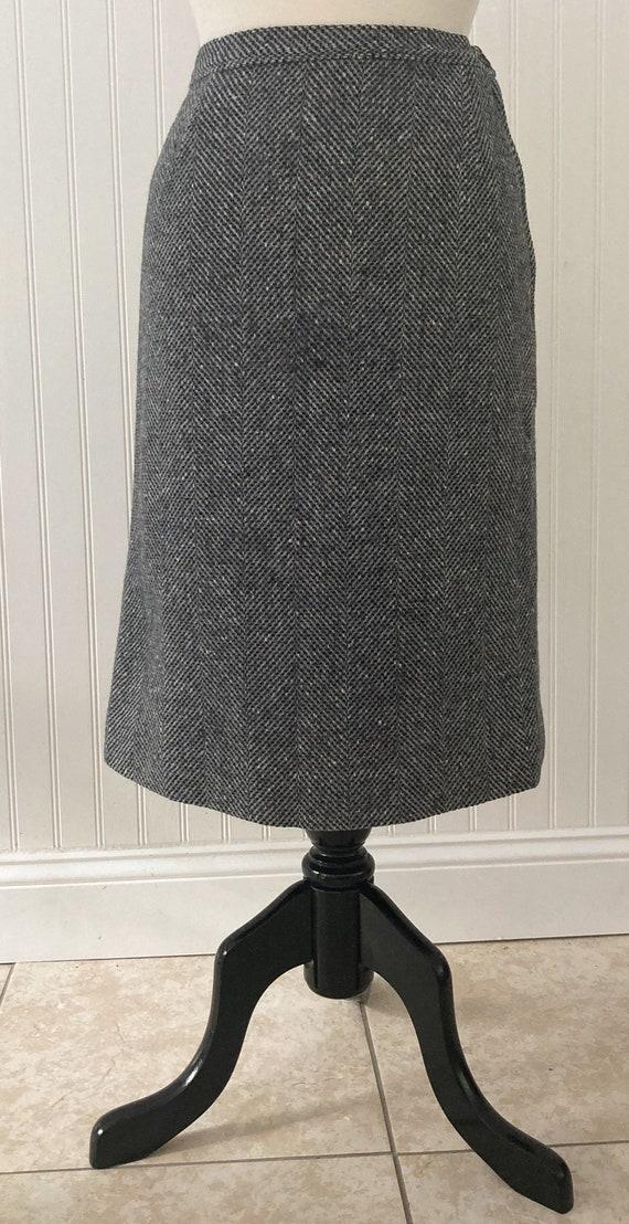 Vintage 1970s Pendleton 100% Wool Skirt