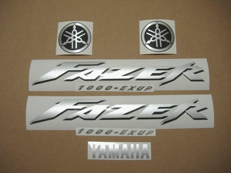 Yamaha Fazer Fzs 1000 2005 Decals Full Stickers Kit Set Replacement Replica Restoration Graphics Reproduction Pegatinas Adesivi Aufkleber