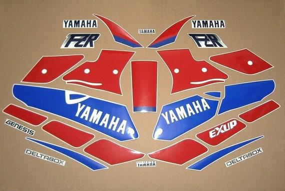 FZS 1000 Fazer 2001 complete decals stickers graphics set kit emblems pegatinas