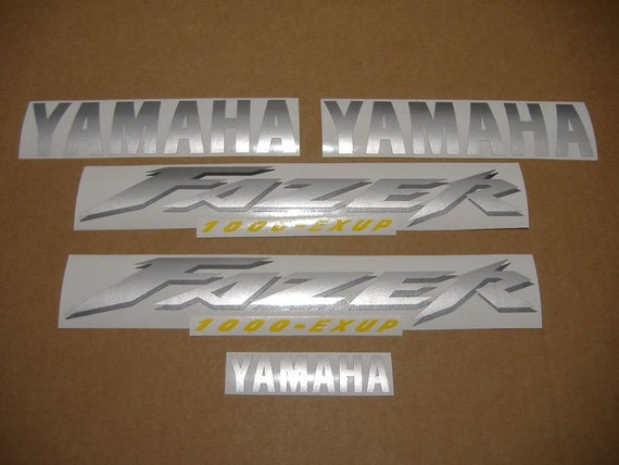 Yamaha Fazer Fzs 1000 2001 Decals Stickers Set Kit Replacement Replica Restoration Graphics Reproduction Pegatinas Adesivi Aufkleber Emblems