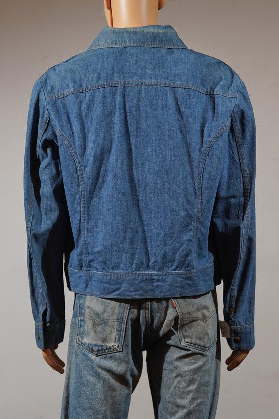 1970's Snap Up Lee Denim Jacket - image 6