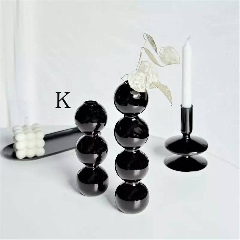 nordic nordic style vase morandi candlesticks candle holder centerpiece candle holder glass vintage candle holder glass cylinder