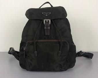 ff65b9ca60f5 ... reduced authentic vintage prada backpack bag cef41 e0ad9