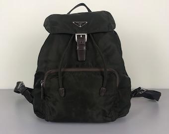 d68601b8512d Authentic Vintage Prada Backpack Bag