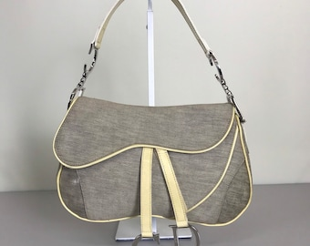 Authentic Christian Dior Saddle Bag a9bb6a19ce74f