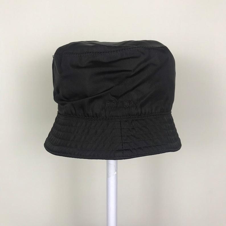 78ae858d8315 Authentic Vintage Prada Bucket hat | Etsy