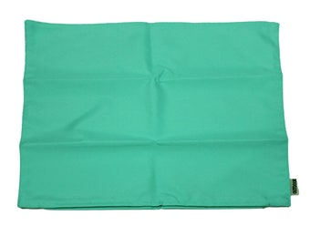 """Waterproof Outdoor Cushion Cover Set of 2 For Patio Chairs 18"""" x 18"""" Covers Only"""