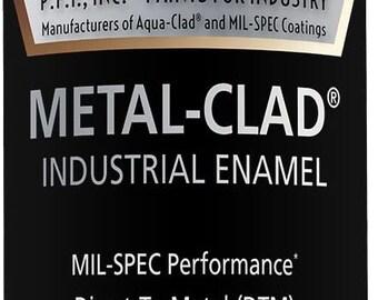 Black Enamel Spray Paint by Metal Clad Industrial Enamel