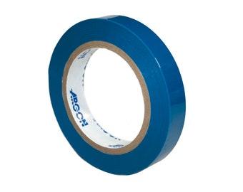 "3/4"" Blue High Temp Masking Tape Powder Coating Painting Sublimation, Polyester Silicon"