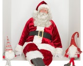 "Santa 6x8.5"" Photobox PNG #12"