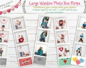 Valentine Photo Strips Te...
