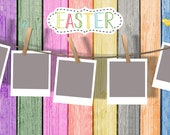 Easter Photo Template | C...