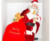 "Santa 8x8"" Photobox PNG #16"