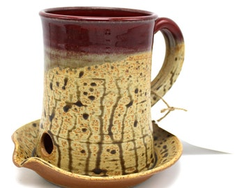 Microwave Bacon Cooker, Handmade Pottery, Ceramic Cookware,  Mom Gift, Cooking Gadget, Eco Friendly Pottery, Nichols Pottery, Stoneware