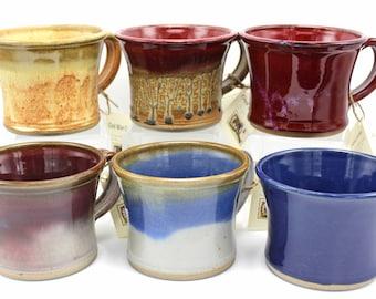 Historic Replica Mug, Civil War Mug, Large Coffee Mug, Handmade Coffee Mug, Dessert Mug, Soup Mug, Ceramic Mug, Stoneware Mug, Hand made mug