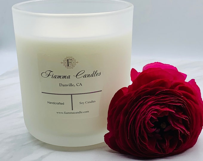 Luxury Candle: Lux, Matte Frost