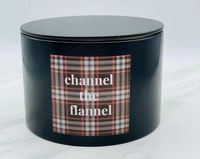 Luxury Candle Tin - Channel the Flannel 13.5oz