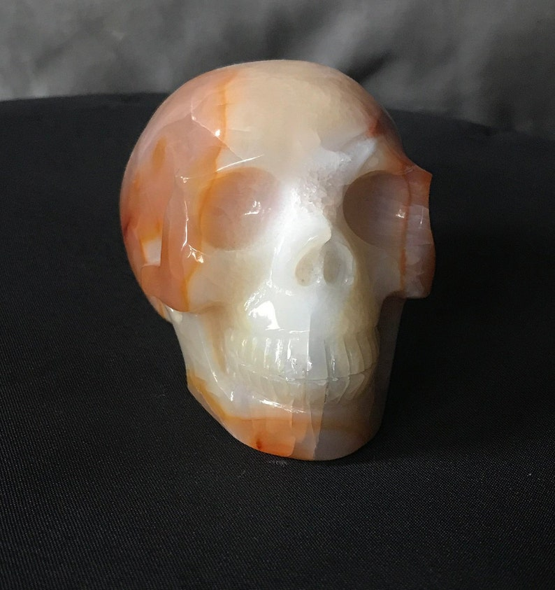 Crystal Quartz Skull