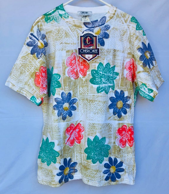 Vintage NEW With Tags 1990's Women's CHEROKEE Flor