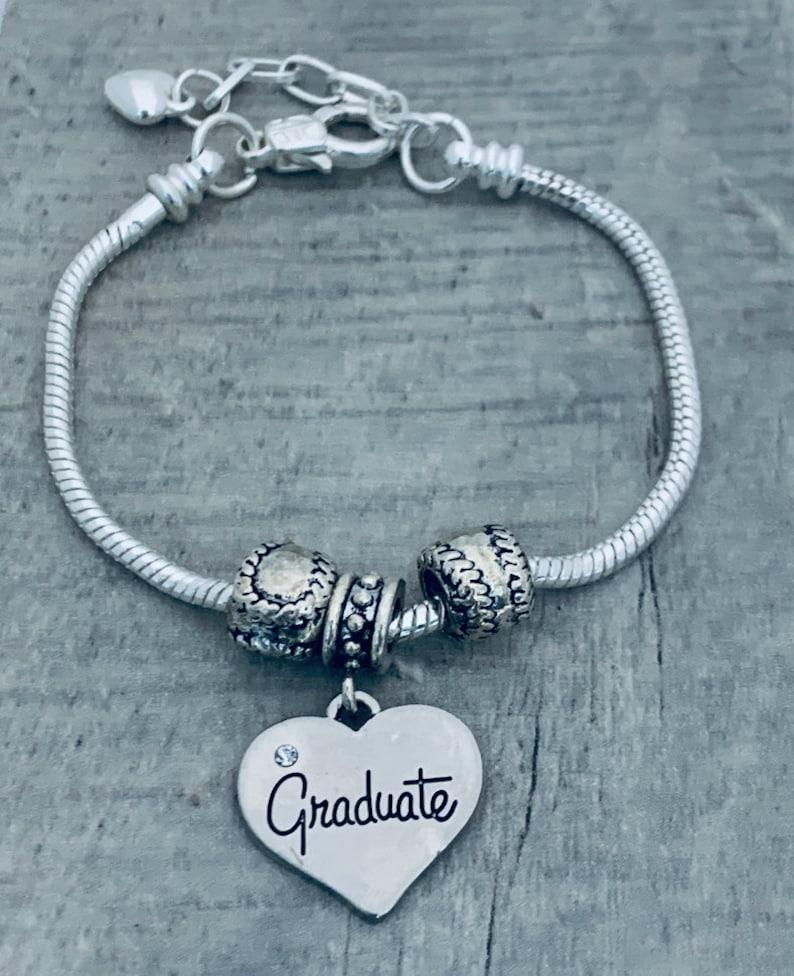 Graduation Gift Graduate Softball Jewelry Graduation Bracelet Softball Graduation Charm Bracelet Charm Bracelet Graduation Jewelry