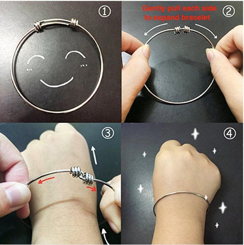 Personalized Runner Bracelet Track Runner Gift for Women Teens and Girls Marathon Running Jewelry She Believed She Could Charm Bangle