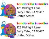 Snail Mail Saddle Address Labels