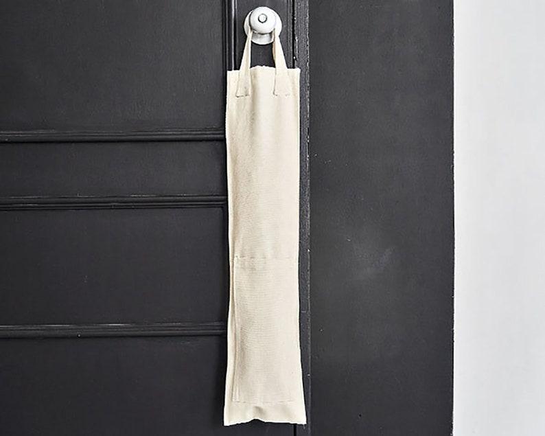 Mudcloth Fabric Umbrella door Hanger Wedding Gift Plain Cotton Fabric Umbrella Stand Vintage Blank Cotton Cloth Umbrella Holder