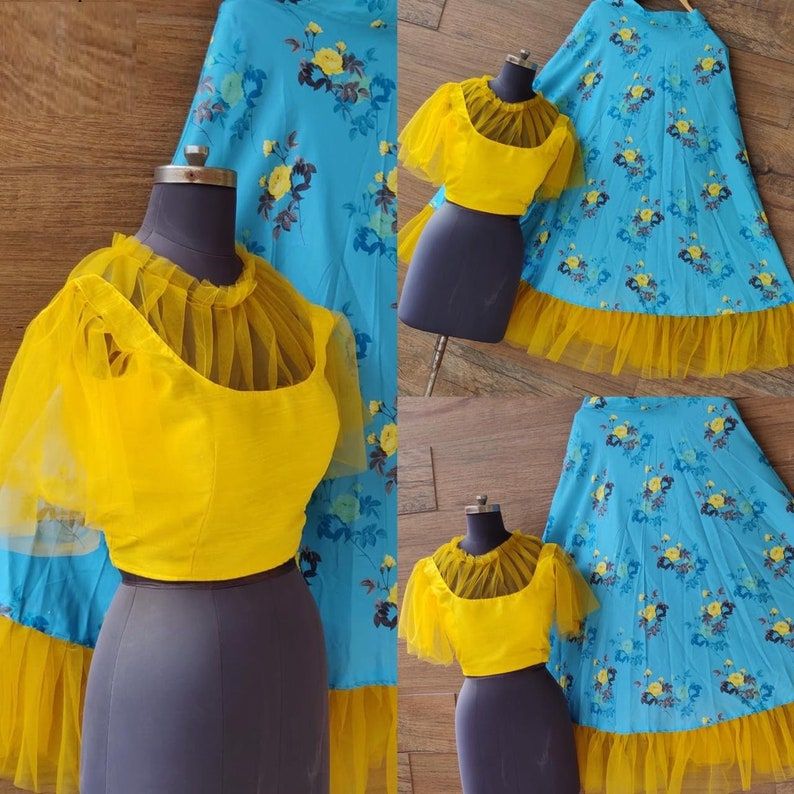 Designer Printed Skirt Lehenga Choli Beautiful colorful designer dress partywear Wedding Wear Bridal Lehenga Party Wear Chaniya Choli