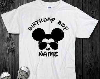 Disney Birthday Shirt Boy