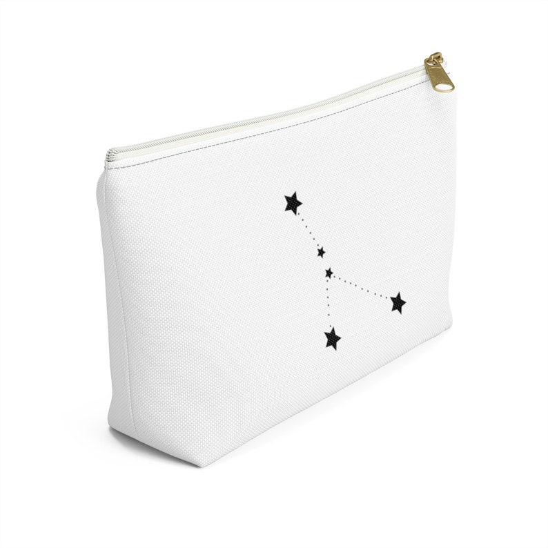 Cancer Zodiac Constellation Custom Makeup Accessory Pouch