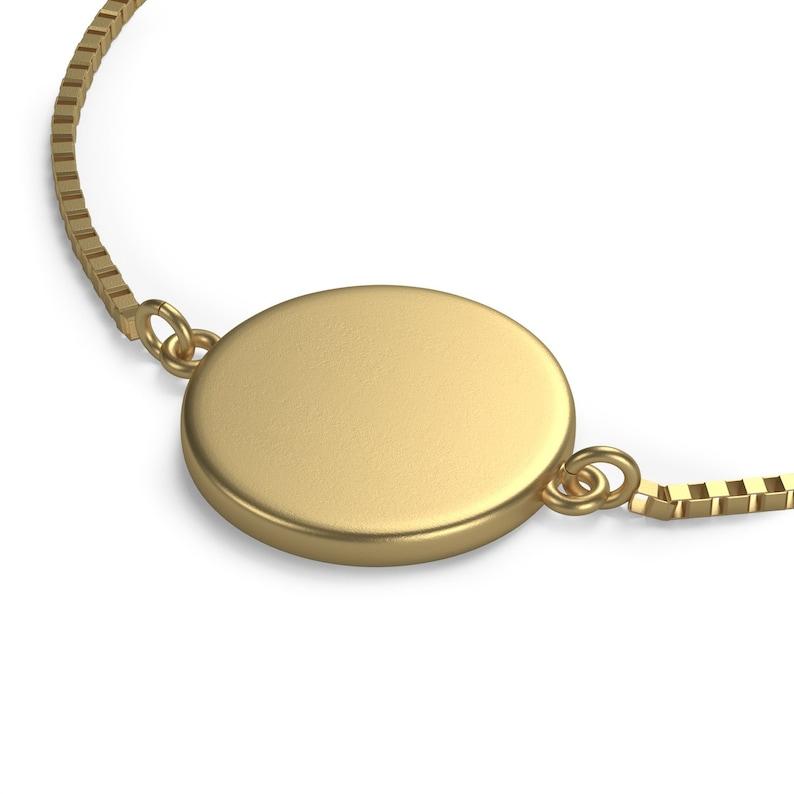 Libra Constellation Personalized Zodiac Box Chain Bracelet