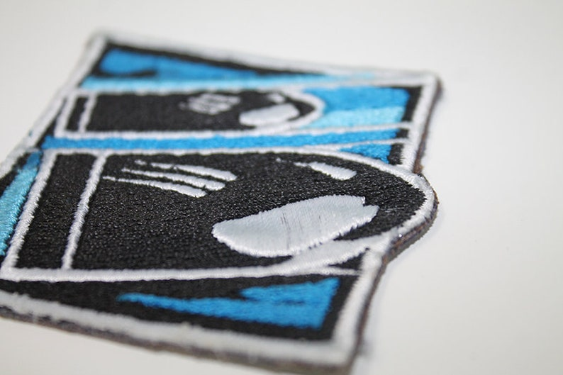 Rainbow Six Siege Buck Embroidered Patch Iron on Backing