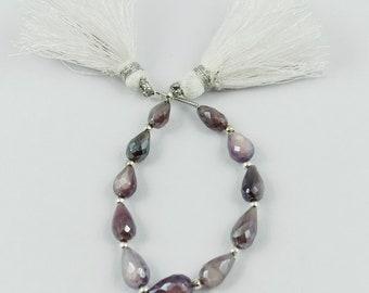 b59676a3e56 Purple Moonstone Gemstone, Teardrop Shape,Top Quality Hand  Polished,Beautiful Shiny Moonstone Beads For Making Jewelry,7x5 9x5mm,L-3021
