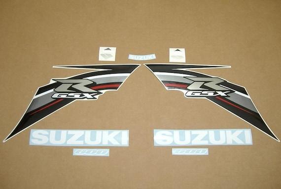 GSX-R 1000 2008 complete decals stickers graphics pegatinas set kit adesivi k8