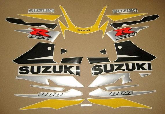 GSX-R 750 2003 full decals stickers graphics autocollants kit set k2 k3 adesivi