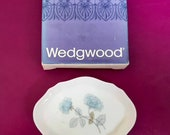 Wedgwood Ice Rose plate trinket dish, Wedgwood dish, Ice Rose Wedgwood trinket dish, english pottery, Wedgwood collectable